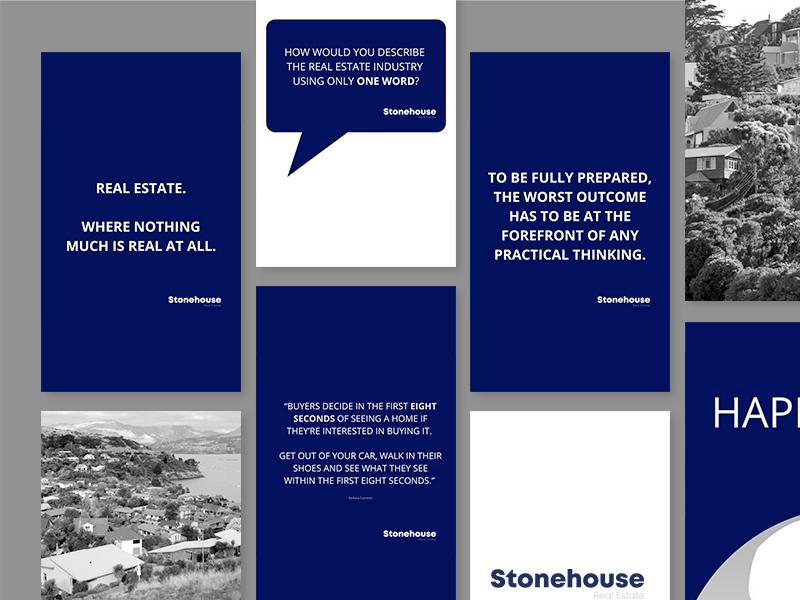Stonehouse Real Estate Social Media